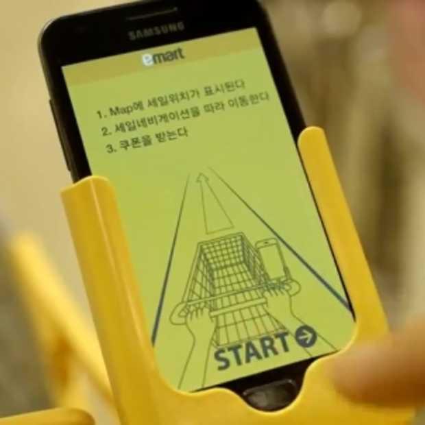Emart Sale Navigation: de eerste instore GPS voor de supermarkt