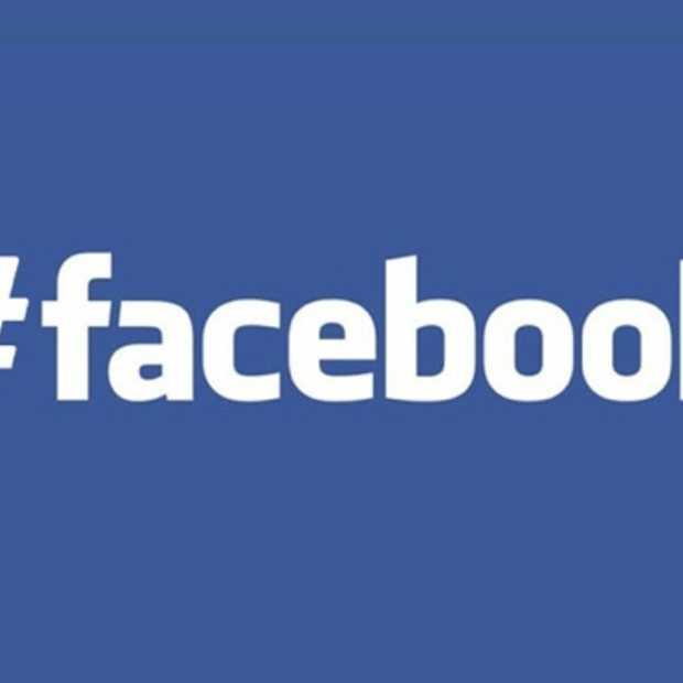 Facebook doet het vanaf nu ook met #hashtags