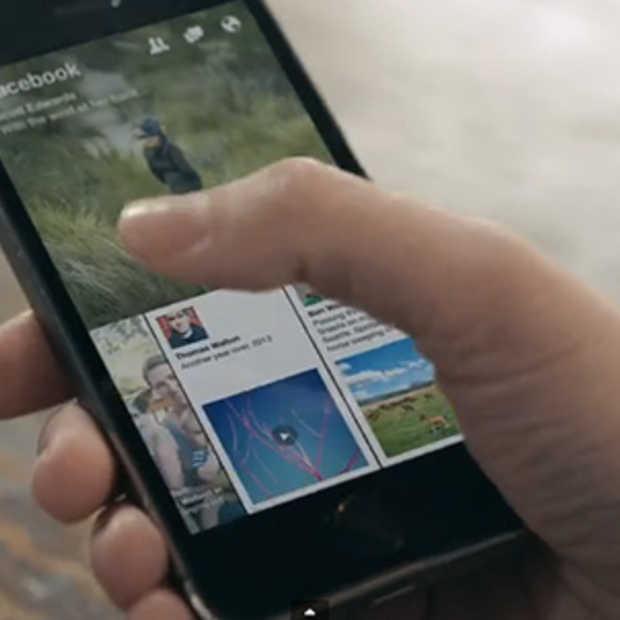 Facebook en Storytelling: De app Paper is vanaf 3 februari beschikbaar in de VS
