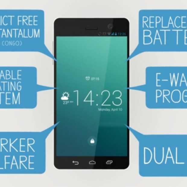 Fairphone: de allereerste fair trade smartphone