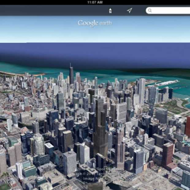 Google Earth's Street View nu ook voor iOS beschikbaar