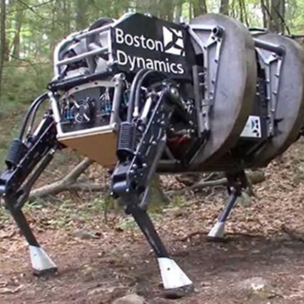 Google koopt robotbedrijf Boston Dynamics