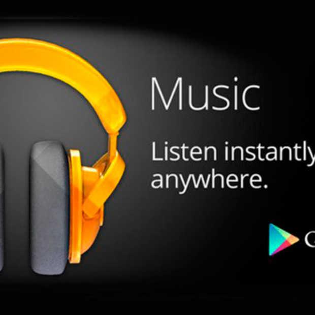 Google Music nu ook in België