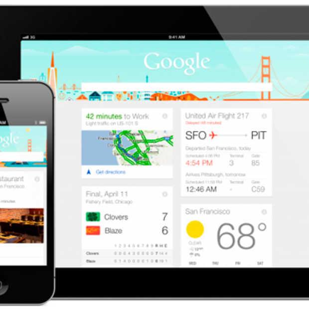 Google Now vanaf nu ook beschikbaar op iOS