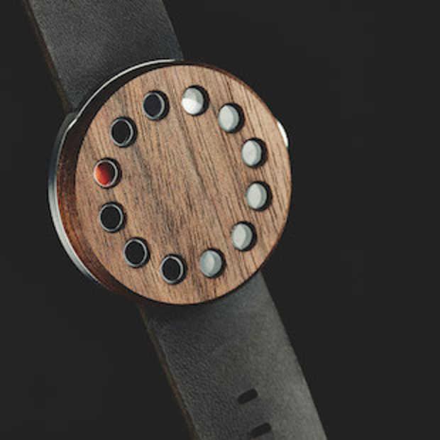 Grovemade maakt een uniek houten horloge