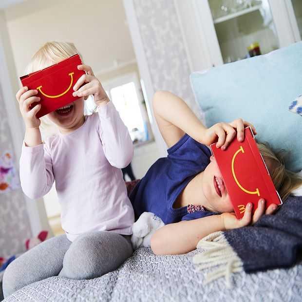 Maak zelf een Virtual Reality bril met McDonalds
