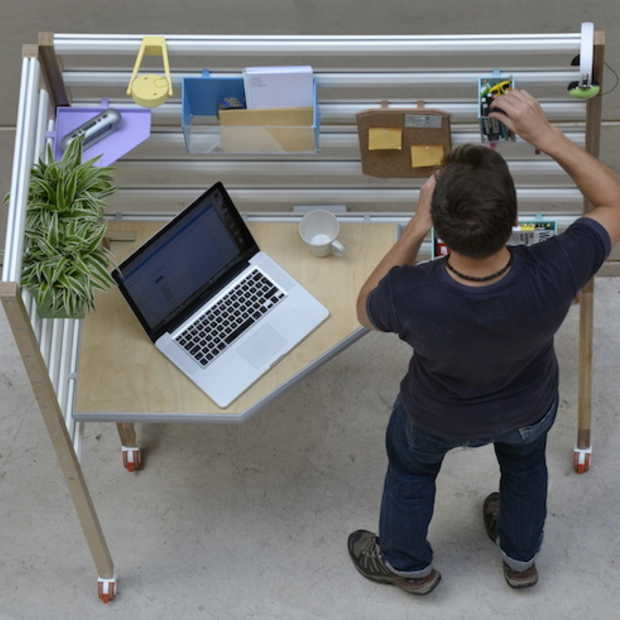 Het ultimieme flexibele bureau