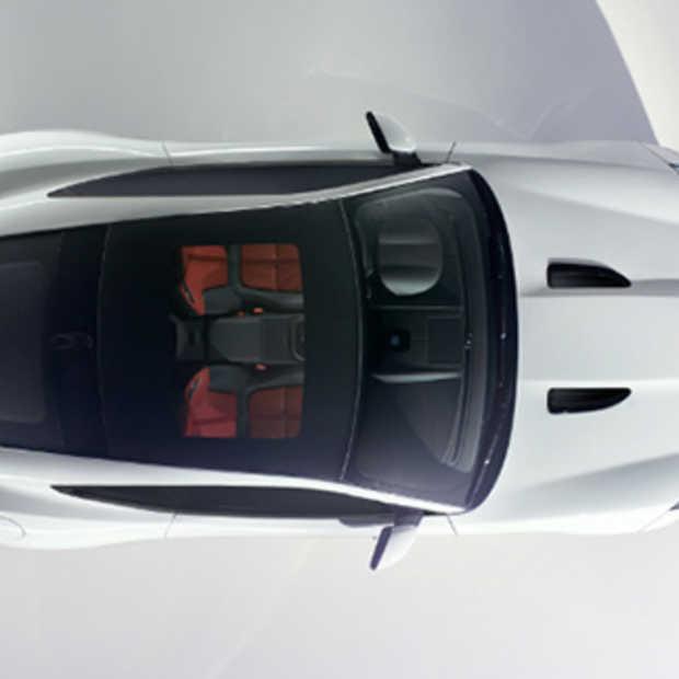 Hier is de Jaguar F-Type Coupé