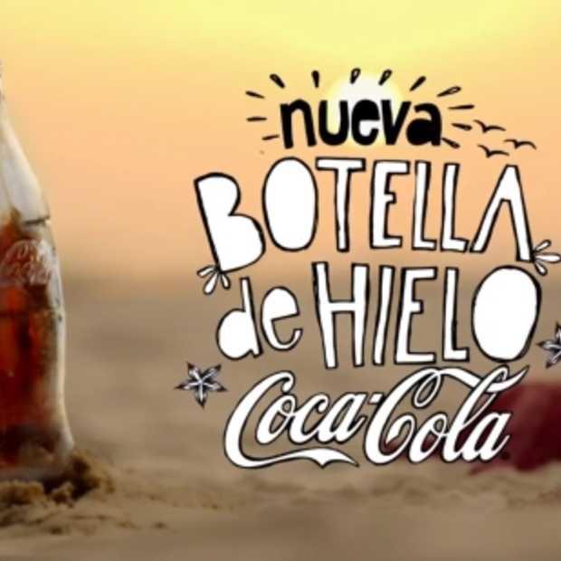 Ice Ice baby! Nieuw Coca-Cola flesje helemaal uit ijs vervaardigd