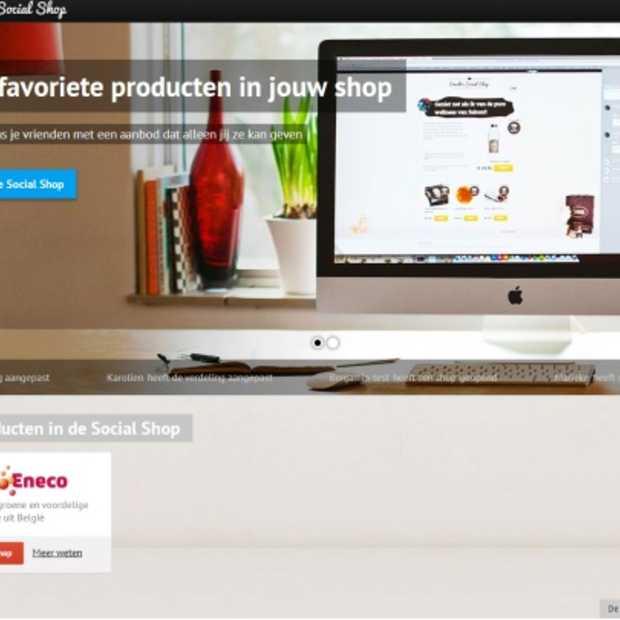 Iedereen verkoper in de eerste Social Shop van België