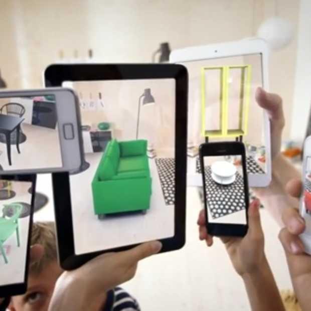 IKEA vindt 'augmented reality' opnieuw uit.