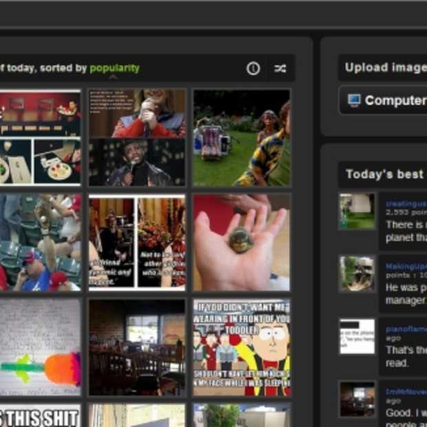 Image sharing service Imgur lanceert mobiele applicatie voor Android