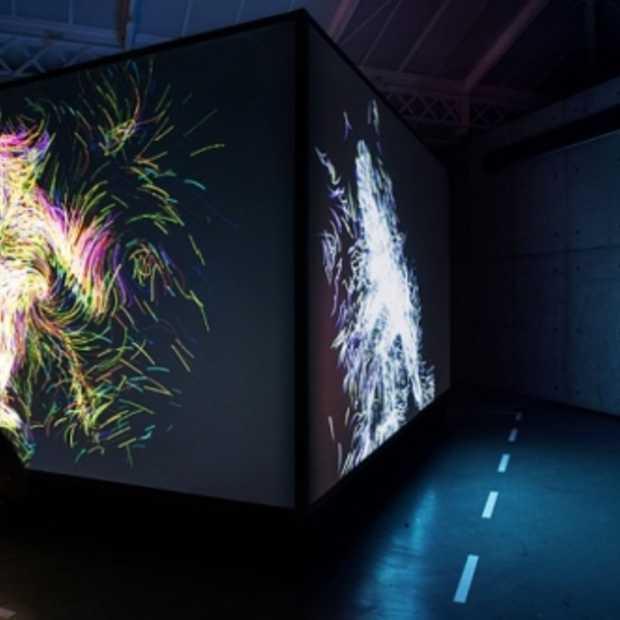 Interactieve Nike installatie maakt animated digital art van je lichaam
