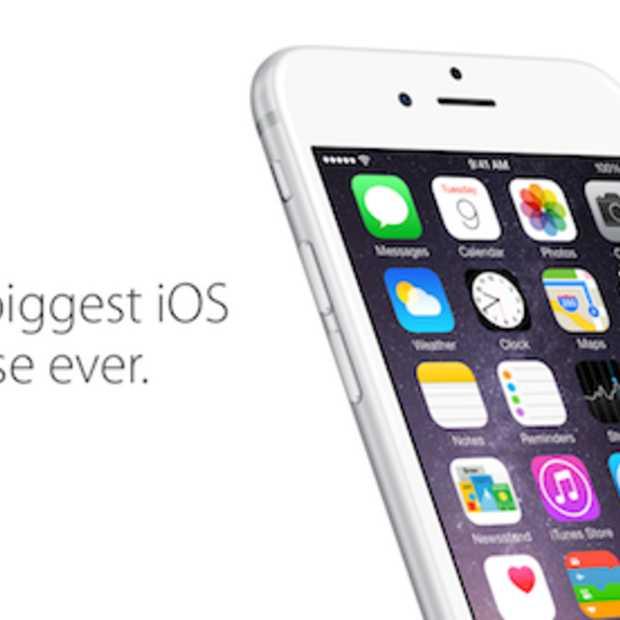 iOS 8 nu beschikbaar voor iPad, iPhone en iPod Touch