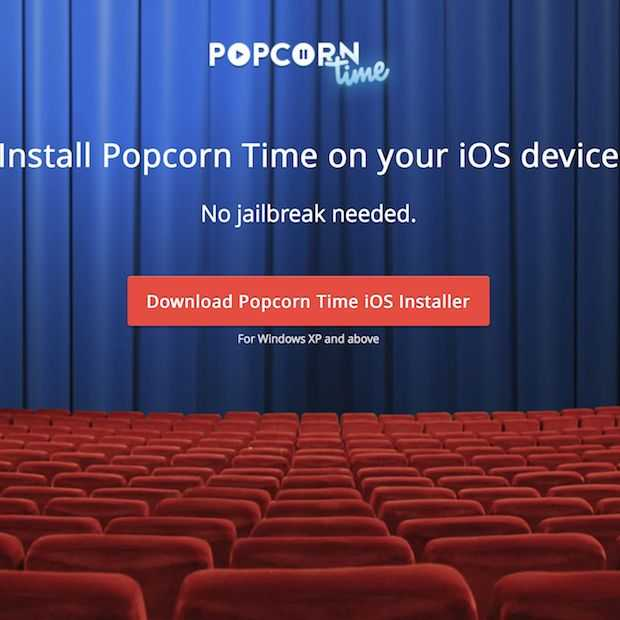 Popcorn Time komt vandaag met iOS versie