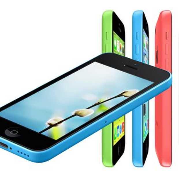 iPhone 5C (refurb) voor 350€