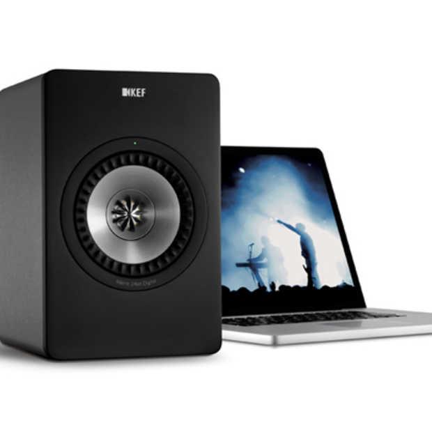 KEF introduceert digitale HiFi computer luidsprekers: KEF X300A