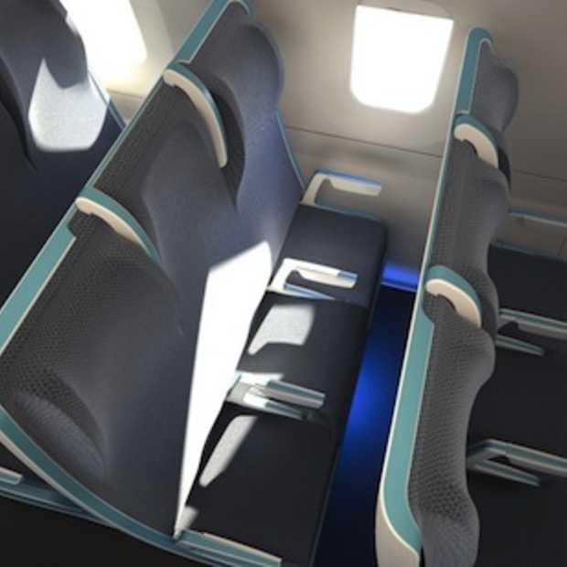 Kies zelf de grootte van je vliegtuigstoel dankzij Morph