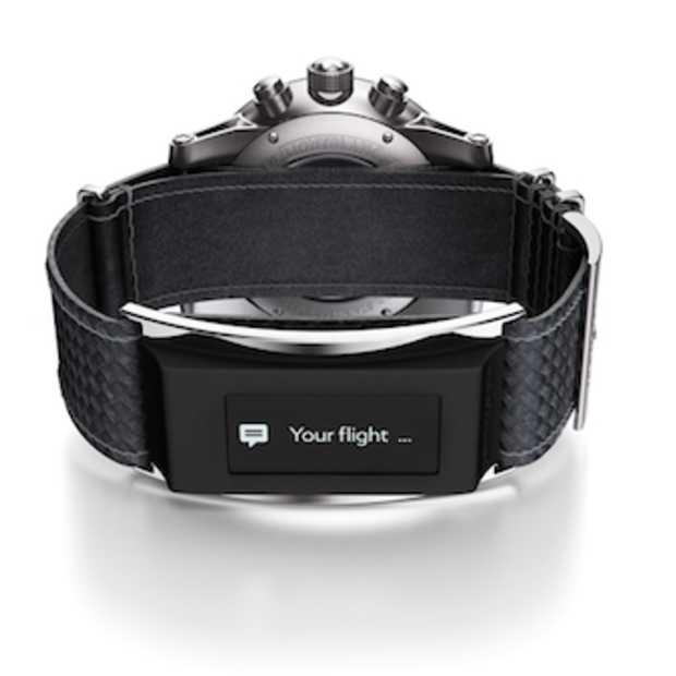Klassiek horlogemerk Montblanc ontwerpt smartwatch