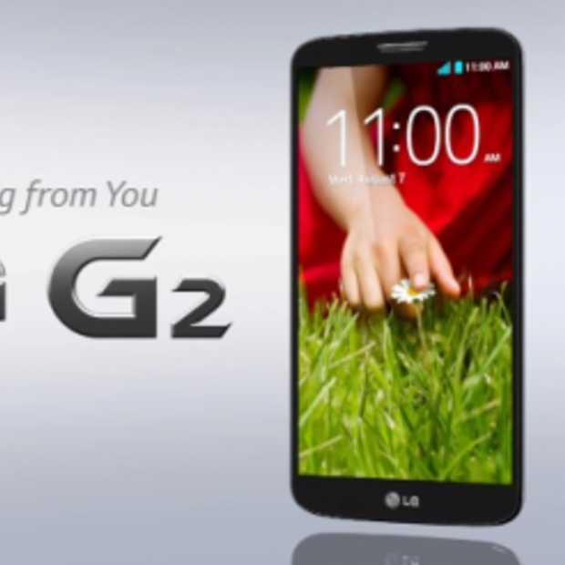 LG's nieuwe smartphone: de G2