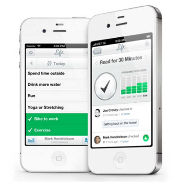 Lift: de app die je gewoontes verandert