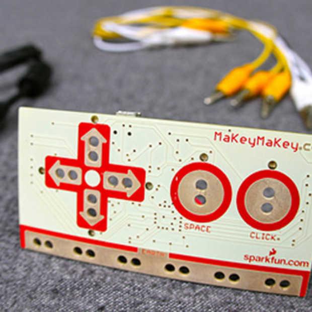 MaKey MaKey. Verander elk object in een interface voor je computer!