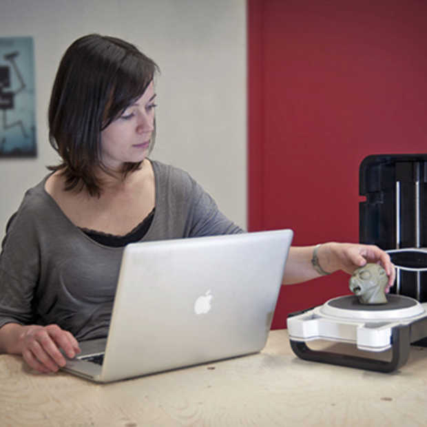 Matterform's 3D-scanner is goedkoper dan een tablet