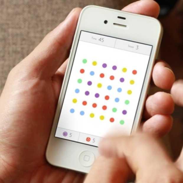 Meest eenvoudige iOS game 'Dots' al meer dan 2 miljoen gebruikers