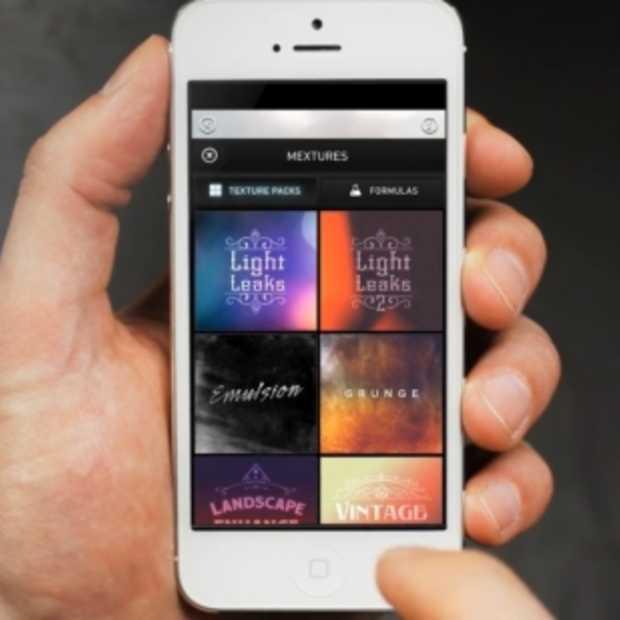 Mextures iOS photo app: de gepaste interface om je foto's te editen in unieke, arty pieces