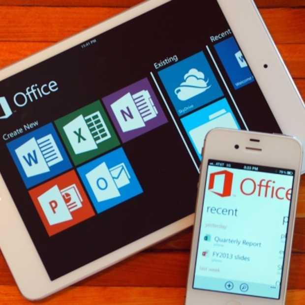 Microsoft Office eindelijk op iPhone