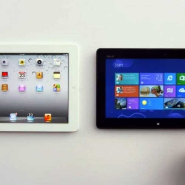 Microsoft spot met iPad in nieuwe, zeer geslaagde Windows 8 commercial