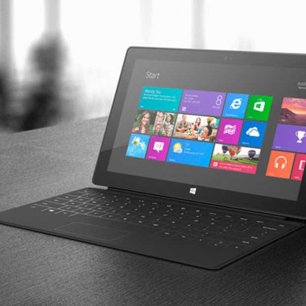 Microsoft Surface tablet vanaf 14 februari ook in België verkrijgbaar