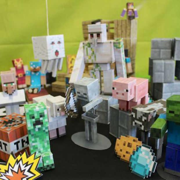 Modern knutselen met de Minecraft Papercraft Studio