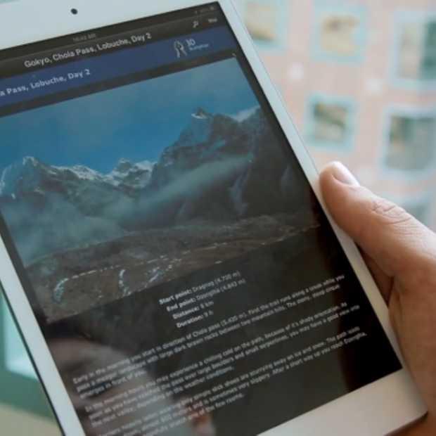 Nieuwe iOS app laat je de Mount Everest ontdekken vanuit je luie zetel