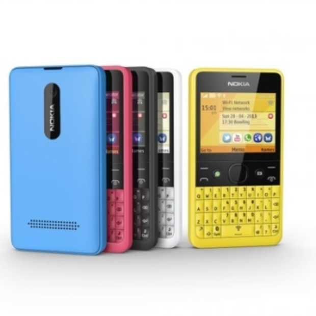 Nieuwe Nokia Asha 210: iconisch design en ultra sociaal