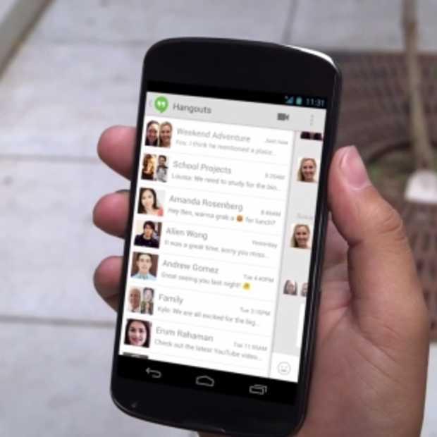 Nieuwe, veelbelovende messaging app Google Hangouts: snel, eenvoudig & geïntegreerd