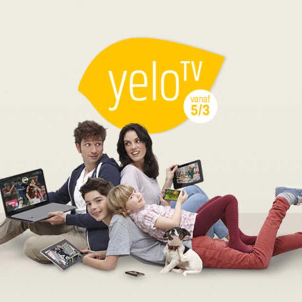 Nieuwe versie van Yelo TV beschikbaar vanaf 5/3