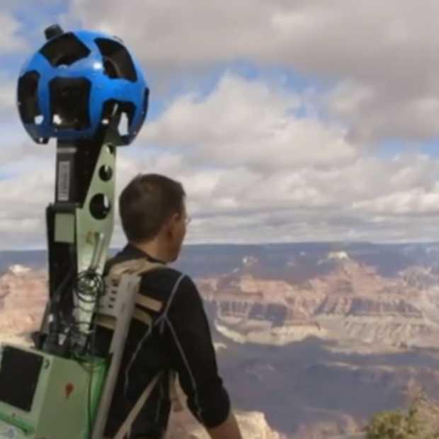 Nu ook door de Grand Canyon met Google Maps