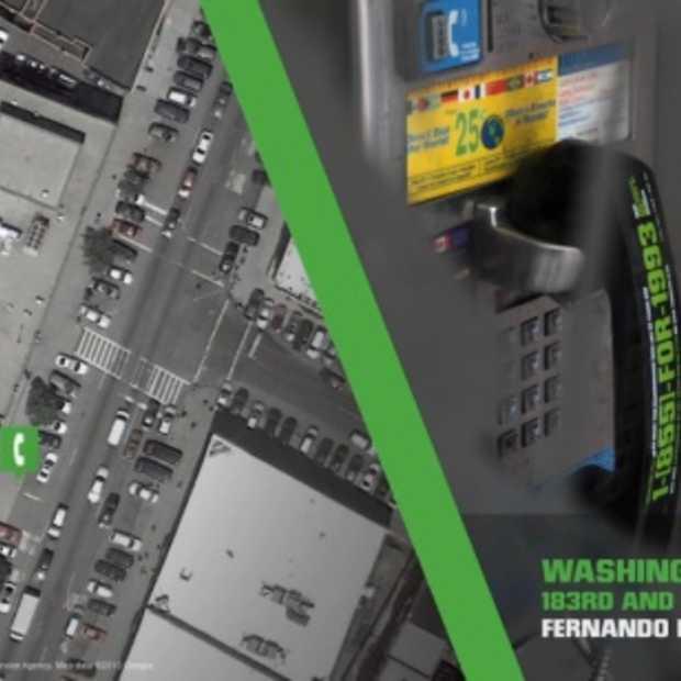 NYC 1993: Droga5 verandert 5.000 telefooncellen in teletijdsmachines