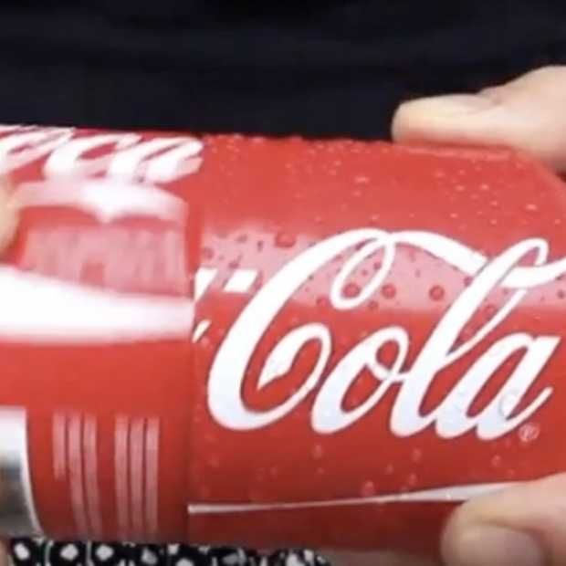 Ogilvy lanceert Coca-Cola sharing can: het 33cl blikje dat je in twee kan delen