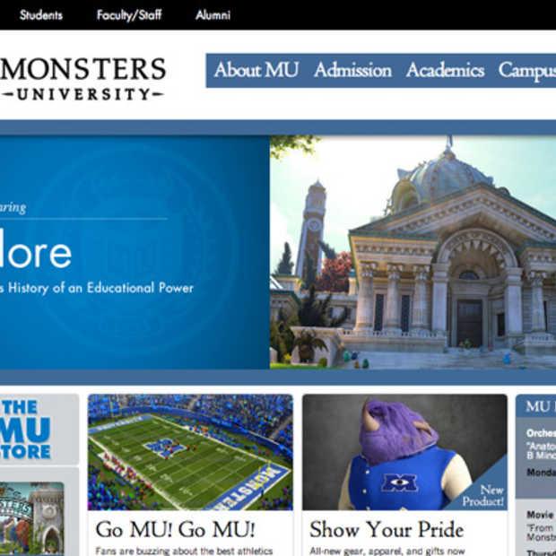 Ontdek de enige echte Monsters University