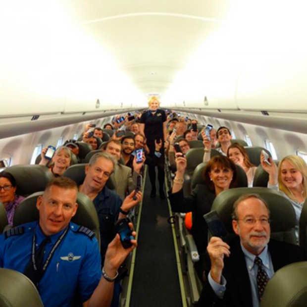 Ook bij ons binnenkort vrij gebruik van gadgets op het vliegtuig?