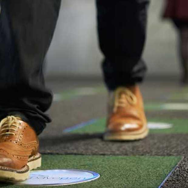 Pavegen: genereert groene energie uit je voetstappen