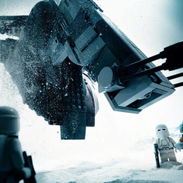 Prachtige Star Wars LEGO fotografie van Avanaut