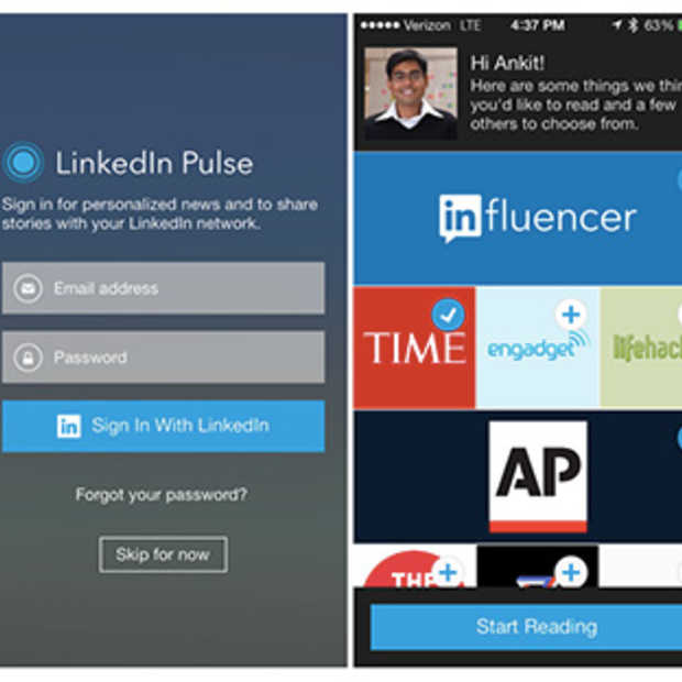 Pulse vanaf nu geïntegreerd in LinkedIn