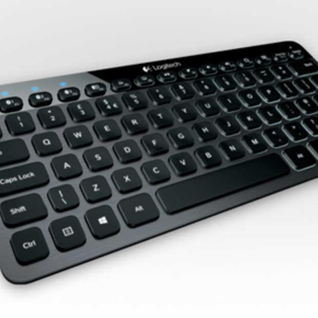 RT actie: Logitech wireless keyboard voor je smartphone of tablet