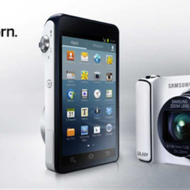 Samsung Galaxy Camera draait op Android