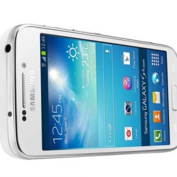 Samsung GALAXY S4 zoom: de eerste smartphone met 10x optische zoom