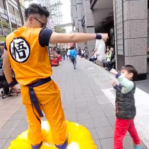 Video: Wat krijg je als je gaat cosplayen met een hoverboard?