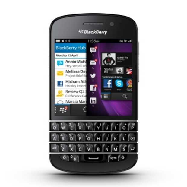 Skype app nu beschikbaar voor nieuwe BlackBerry Q10
